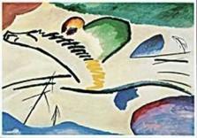 Vassily Kandinsky (1866-1944) -Lyrisch- Dubbele Kaart