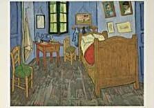 Vincent van Gogh (1853-1890) -van Gogh/Vincents Bedroom- Dubbele Kaart