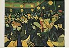 Vincent van Gogh (1853-1890) -van Gogh/Dance Hall- Dubbele Kaart