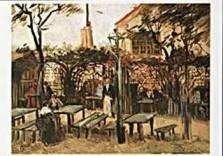 Vincent van Gogh (1853-1890) -van Gogh/Guinguette ..- Dubbele Kaart