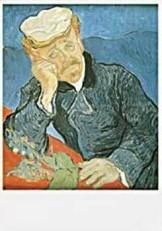 Vincent van Gogh (1853-1890) -van Gogh/Le docteur- Dubbele Kaart