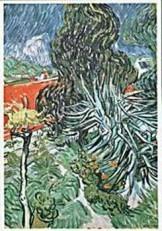 Vincent van Gogh (1853-1890) -van Gogh/Le jardin- Dubbele Kaart