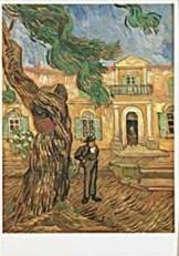 Vincent van Gogh (1853-1890) -van Gogh/Hopital St.Paul- Dubbele Kaart