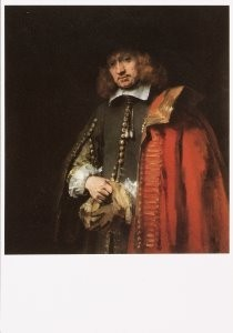 Rembrandt Van Rijn (1606/7-'69-Rembrandt/Jan Six/Six Trust- Dubbele Kaart