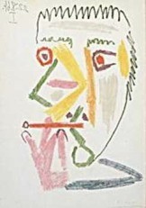 Pablo Picasso (1881-1973) -Picasso/Roker/BR/BvB- Dubbele Kaart