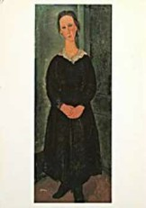 Amedeo Modigliani (1884-1920) -AKG- Dubbele Kaart