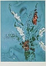 Marc Chagall (1887-1985) -Composition- Dubbele Kaart