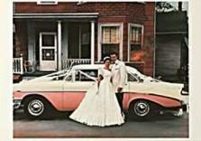 Guy Johnson (1927) -Johnson /Wedding snapshot2/LKM- Dubbele Kaart