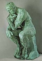 Auguste Rodin (1840-1917) -A.Rodin/Le Penseur- Dubbele Kaart