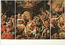 Dirck Barendsz (1534-1592) -Barendsz D./Drieluik/S.M.G.- Dubbele Kaart