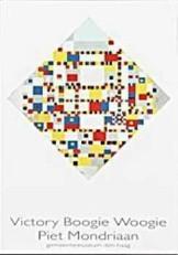 Mondriaan (1872-1944)Mondrian -P.Mondriaan/Victory Boogie Woo- Dubbele Kaart