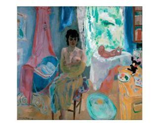 Jan Sluijters (1881-1957) -Maternite, 1948- Dubbele Kaart