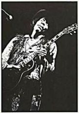 Elliott Landy (1942) -Elliott Landy/Jimi Hendrix- Dubbele Kaart