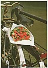 Tjalf Sparnaay (1954) -Tulpen uit Amsterdam- Dubbele Kaart