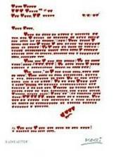 Giora Katri -A love letter.- Dubbele Kaart