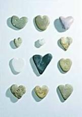 Letizia Volpi -Hearts of stone- Dubbele Kaart