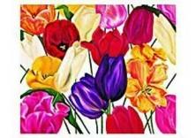 Marianne Furrer -A mania for tulipsIII- Dubbele Kaart