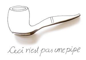 Cintascotch (J. P. Estrella) -Pipe (Ceci n'est pas une pipe)- Dubbele Kaart