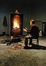 Teun Hocks (1947) -Untitled- Dubbele Kaart