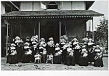 Anoniem, -De Liefdezusters te Singkawang, Borneo, ca, 1926- Dubbele Kaart