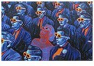 René Jacobs (1969)  -  A face in the crowd, 2009 - Postkaart -  1A00008-1