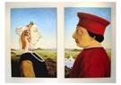 René Jacobs (1969)  -  Dubbelportret van Battista Sforza en Fredrico da Montefeltro - Postkaart -  1A00020-1