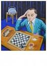 René Jacobs (1969)  -  Fischer -  Spasski 1972, 1998 - Postkaart -  1A00021-1