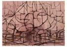 Piet Mondriaan (1872-1944)  -  Bomen in bloesem - Postkaart -  1A00131-1