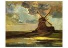 Piet Mondriaan (1872-1944)  -  Windmolen in de Gein, 1907 - Postkaart -  1A00132-1