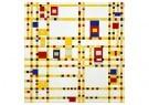 Piet Mondriaan (1872-1944)  -  Broadway Boogie Woogie, 1913 - Postkaart -  1A00133-1