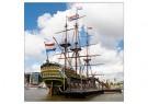 Anthony P. Roman (1958)  -  Dutch ship Amsterdam - Postkaart -  1C0052-1