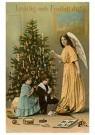 A.N.B.  -  Kerstengel bij de kerstboom - Postkaart -  1C0347-1