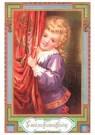 A.N.B.  -  Meisje wenst een fijne kerst toe - Postkaart -  1C0349-1