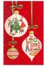 A.N.B.  -  Kerstballen met kerstvoorstellingen daarin - Postkaart -  1C0399-1