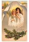 A.N.B.  -  Twee kerstengelen - Postkaart -  1C0461-1