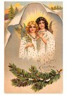 Anonymus  -  Twee kerstengelen - Postkaart -  1C0461-1