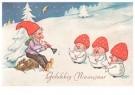 Anonymus  -  Gelukkig nieuwjaar - Postkaart -  1C0647-1