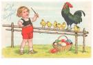 Anonymus  -  Vroolijk paaschfeest - Postkaart -  1C0851-1