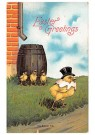 Anonymus  -  Easter greetings - Postkaart -  1C0895-1
