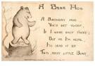 A.N.B.  -  A bear hug - Postkaart -  1C1048-1