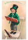Anonymus  -  St. Patrick was a gentleman - Postkaart -  1C1190-1