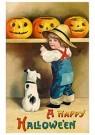 Anonymus  -  A happy Halloween - Postkaart -  1C1206-1