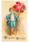 A.N.B.  -  Valentine greetings - Postkaart -  1C1556-1