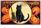 Anonymus  -  A merry halloween - Postkaart -  1C1687-1