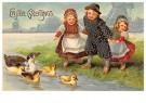 Anonymus  -  Easter Greetings - Postkaart -  1C1692-1