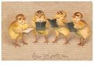 A.N.B.  -  Easter joy attend you - Postkaart -  1C1770-1