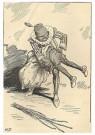 Anonymus  -  Zwarte piet - Postkaart -  1C1841-1