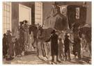 Anonymus  -  Sinterklaas in de Kalverstraat, Amsterdam - Postkaart -  1C1865-1