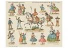 Anonymus  -  Sinterklaas op zijn paard - Postkaart -  1C1902-1