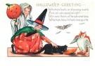 Anonymus  -  Halloween greeting - Postkaart -  1C2031-1